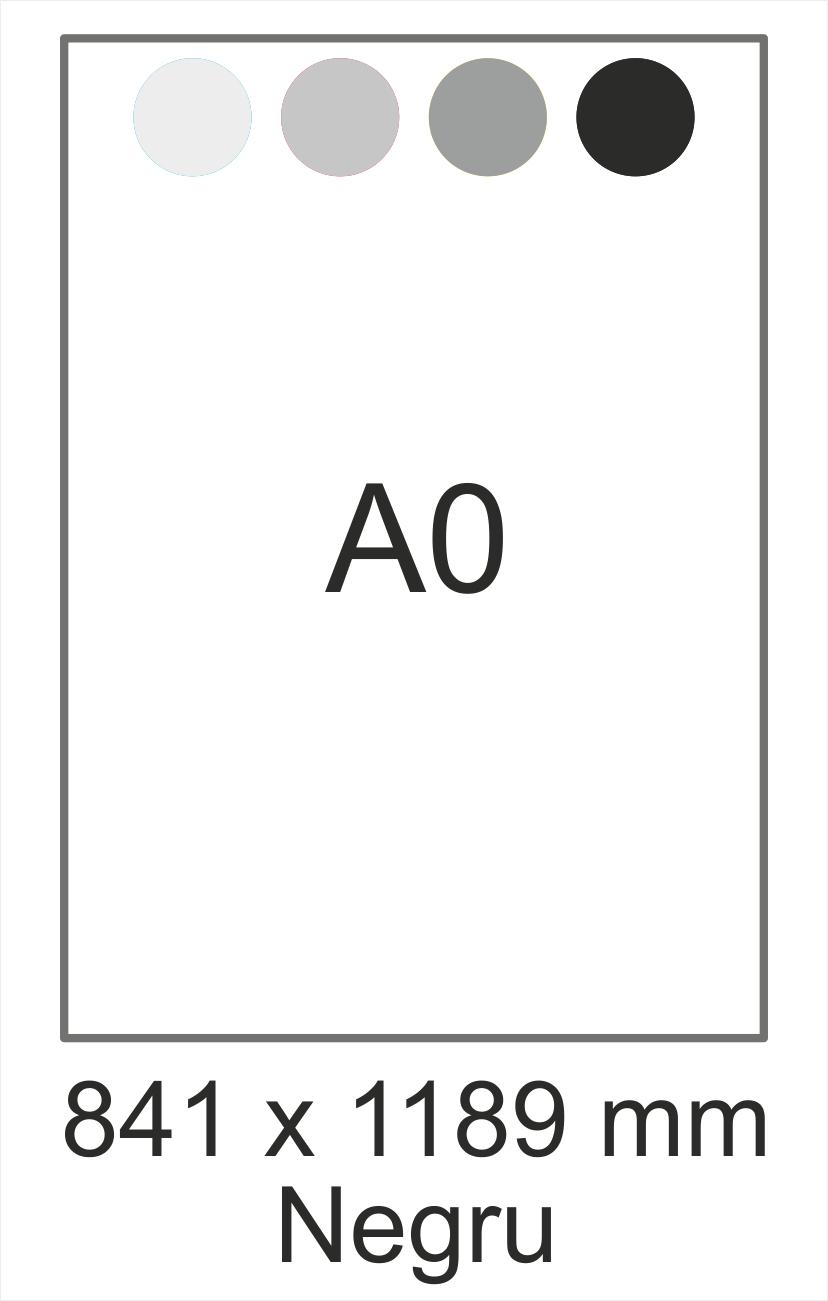 A0 negru