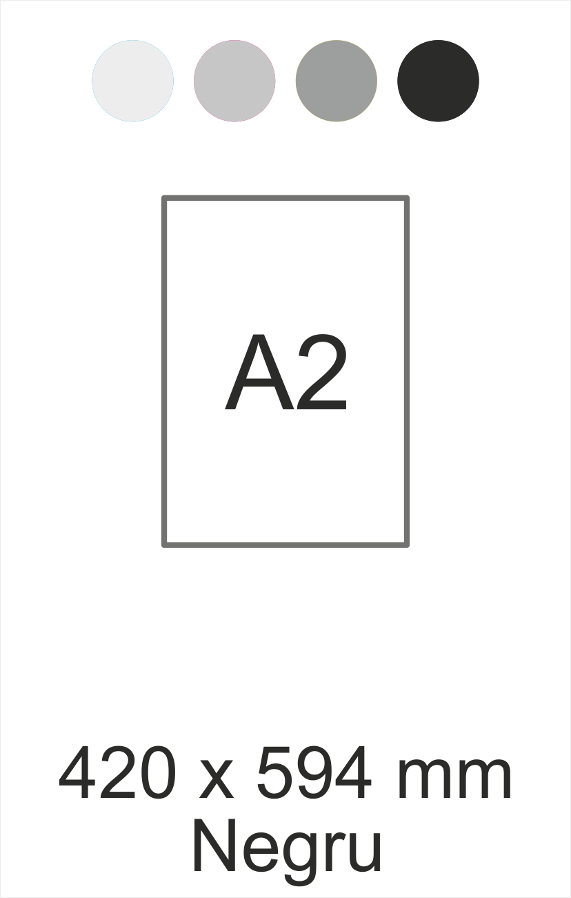 A2 negru