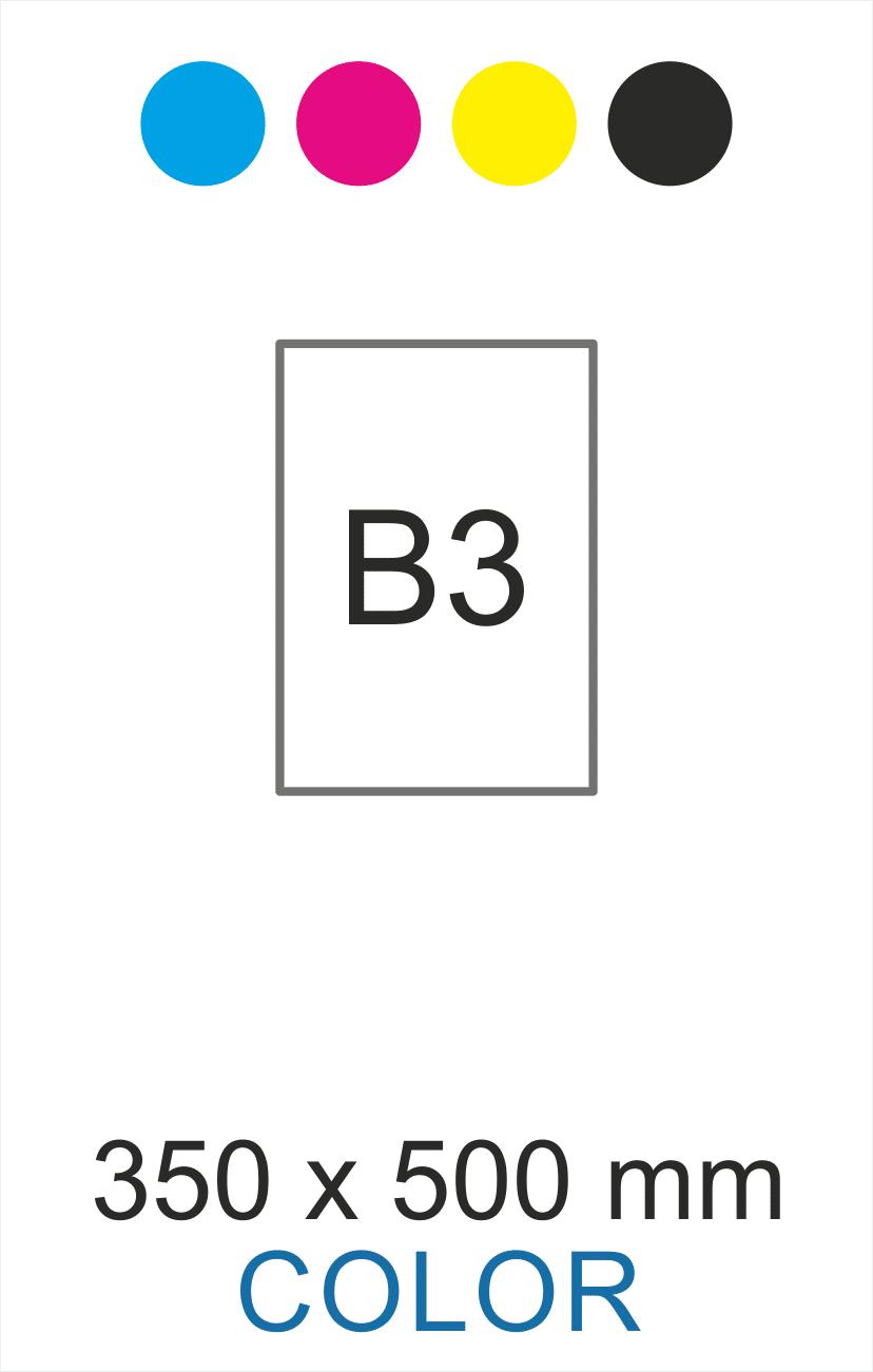 B3 color