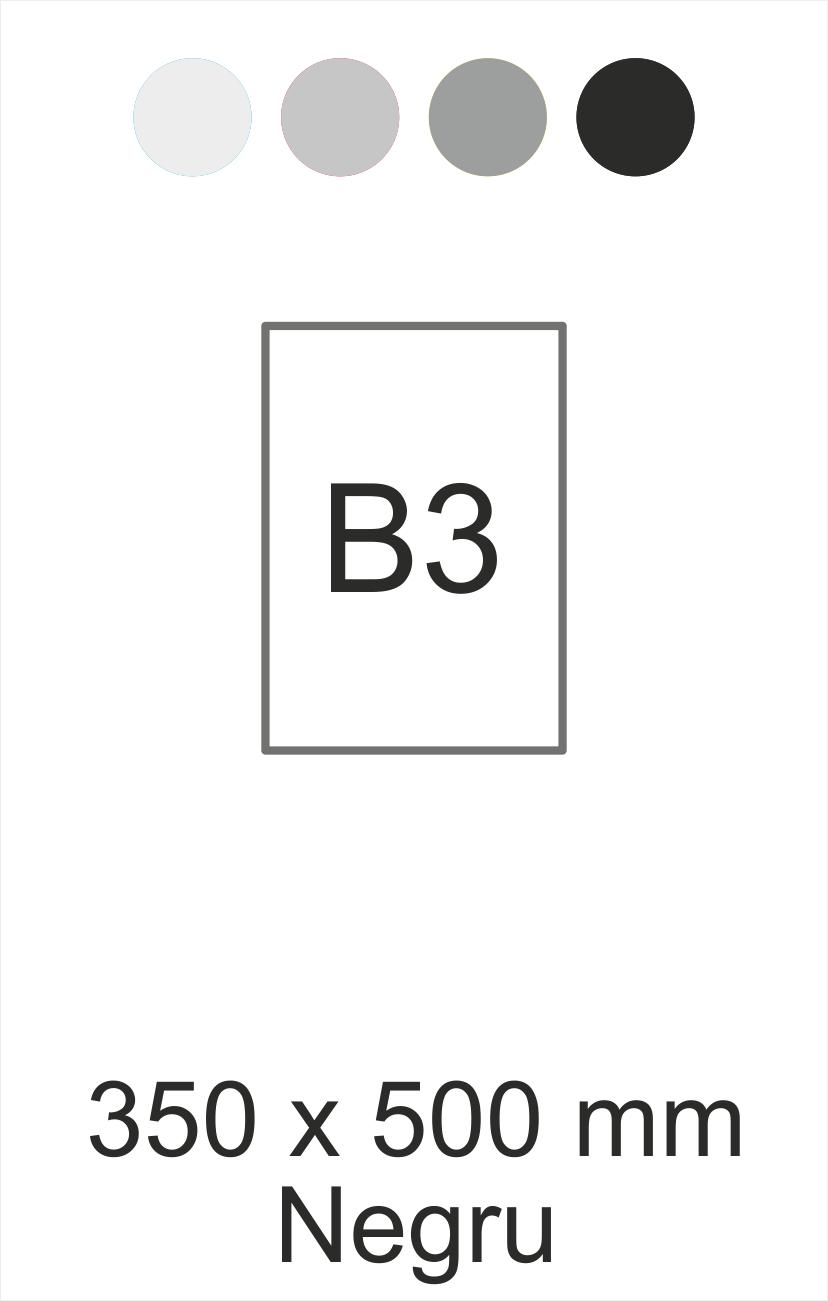 B3 negru
