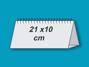 Calendar birou 21 x 10 cm