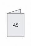A4 pliat la A5