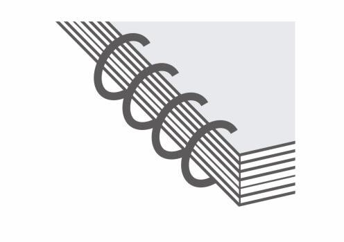 Prindere cu spiră metalică